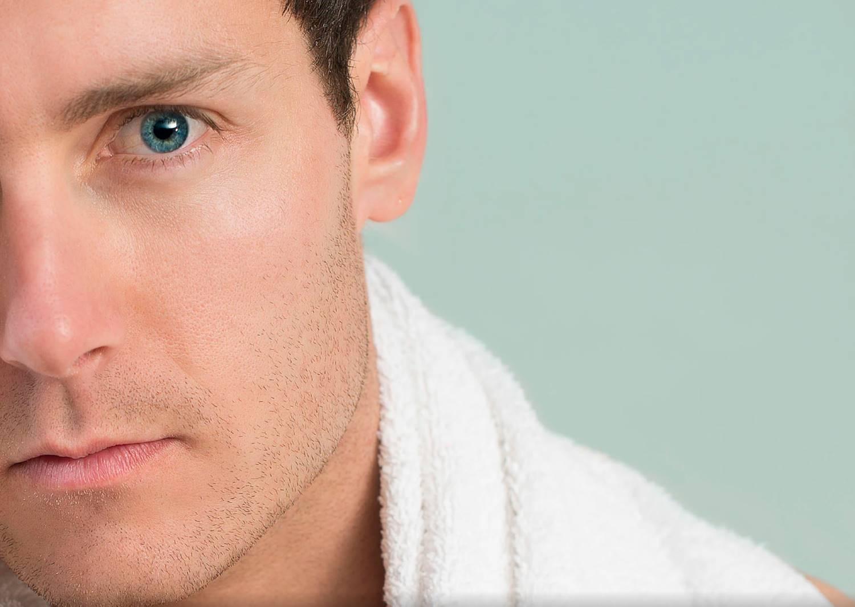 Erkekler için göz altı ışık dolgusu